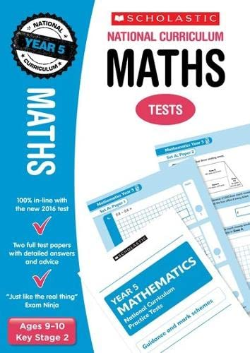 9781407159843: Maths Test - Year 5 (National Curriculum Tests)