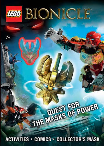 9781407162584: LEGO BIONICLE: Quest for the Masks of Power (Lego Bionicle Activity Book)