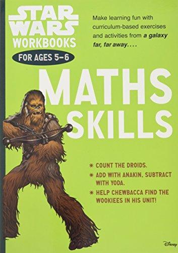 9781407162805: Star Wars Workbooks: Maths Skills Ages 5-6