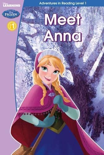 9781407163000: Frozen: Meet Anna (Level 2) (Disney Learning)