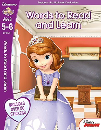 9781407163079: Sofia the First - Words to Read and Understand, Ages 5-6: Ages 5-6 (Disney Learning)