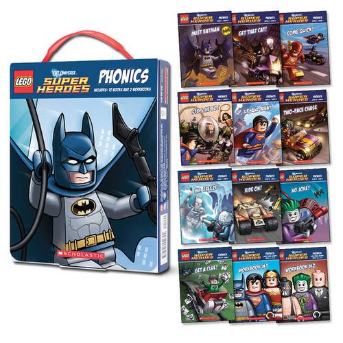 9781407163383: LEGO DC Super Heroes: Phonics Box Set