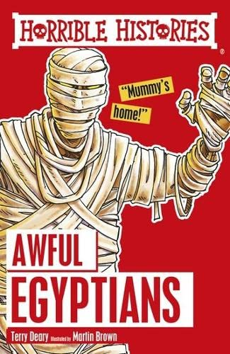 9781407163826: Awful Egyptians (Horrible Histories)