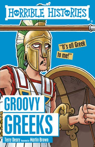 9781407163833: Groovy Greeks (Horrible Histories)