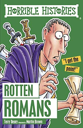 9781407163840: Rotten Romans (Horrible Histories)