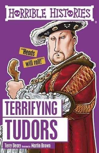 9781407163857: Terrifying Tudors (Horrible Histories)