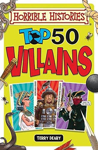 9781407163987: Horrible Histories Top 50 Villains