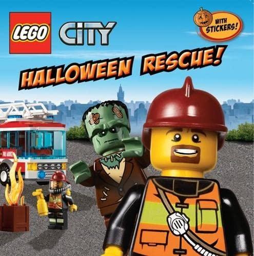 9781407164366: LEGO CITY: Halloween Rescue!