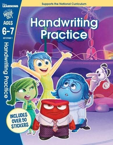 9781407164892: Inside Out - Handwriting Practice (Disney Learning)