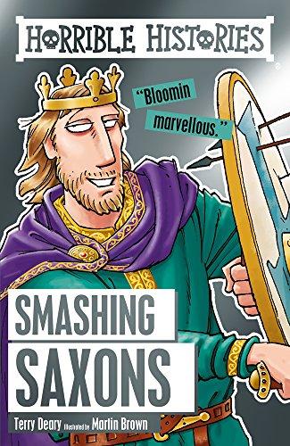 9781407165615: Smashing Saxons (Horrible Histories)