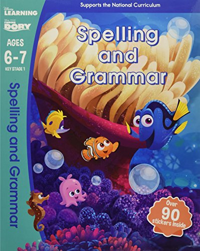 9781407165844: Finding Dory - Spelling and Grammar, Ages 6-7 (Disney Learning)