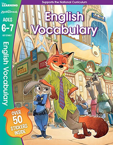9781407165851: Zootropolis - English Vocabulary, Ages 6-7 (Disney Learning)