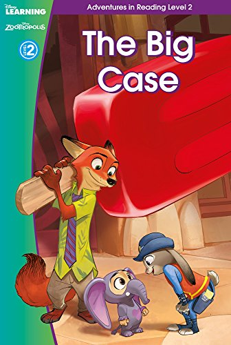 9781407166063: Zootropolis: The Big Case (Adventures in Reading, Level 2) (Disney Learning)