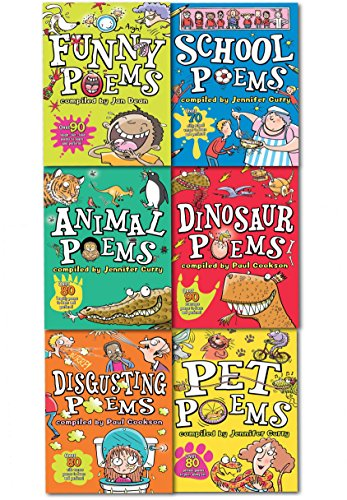 9781407170848: Scholastic Poems 6 Pack Se