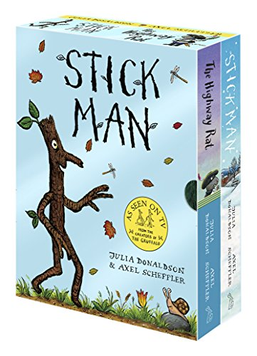 9781407174747: Stick Man & The Highway Rat Board Book Box Set