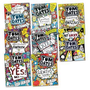 9781407177649: Tom Gates 8 Book Set Sppecial