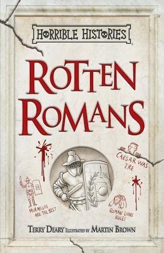 9781407178493: Rotten Romans (Horrible Histories)