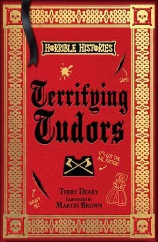 9781407178530: Terrifying Tudors (Horrible Histories)