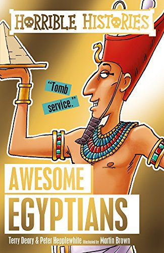 9781407178653: Awesome Egyptians (Horrible Histories)