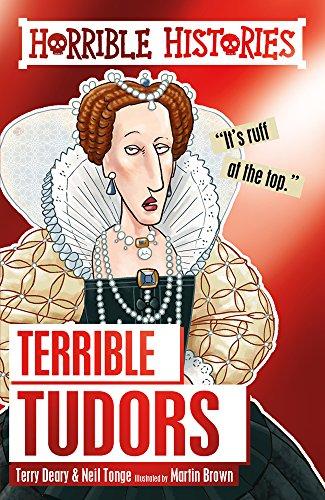 9781407178677: Terrible Tudors (Horrible Histories)