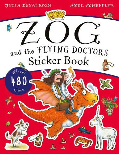 9781407197814: The Zog and the Flying Doctors Sticker Book (PB)