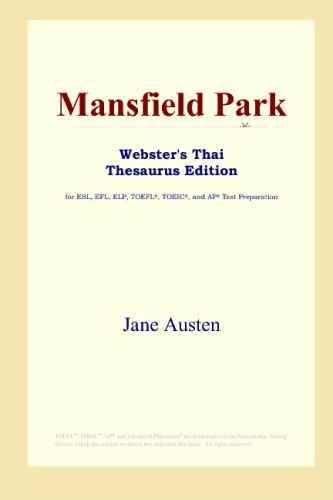 Mansfield Park (Webster's Thai Thesaurus Edition): Austen, Jane
