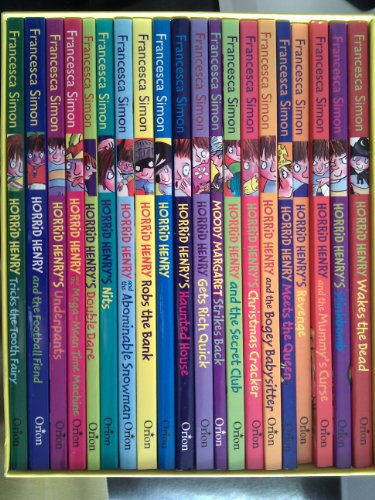 9781407227733: Horrid Henry's Big Bad Box (20 Book Collection) RRP £97.80
