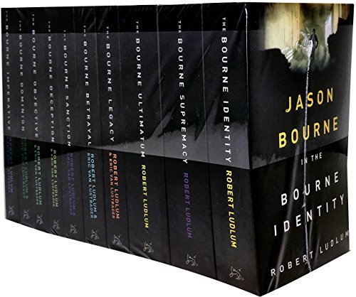 9781407242996: The Bourne Trilogy Series Collection Robert Ludlum 10 Books Set (The Bourne Imperative, The Bourne Legacy, The Bourne Supremacy, The Bourne Ultimatum, The Bourne Identity, The Bourne Objective, The Bourne Sanction, Deception, Betrayal, Dominion)