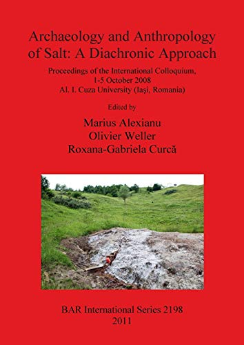 9781407307541: Archaeology and Anthropology of Salt: A Diachronic Approach (BAR International Series)