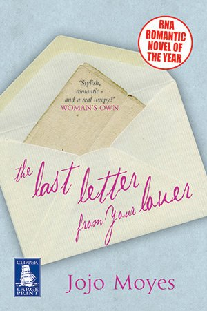 9781407410296: Last Letter from Your Lover (Large Print Edition)
