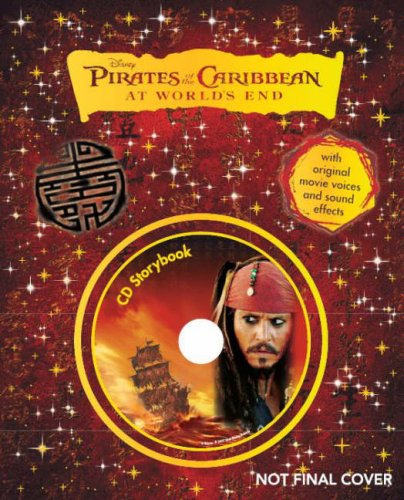 """9781407500188: Disney """" Pirates of the Caribbean: At Worlds End """" Storybook (Book & CD)"""