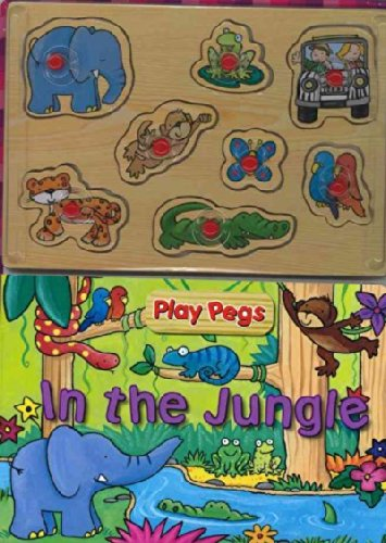 9781407504964: In the Jungle (Play Pegs)