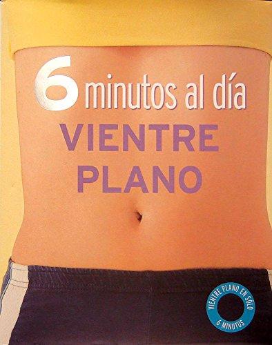 9781407516790: 6 minutos al dia Vientre Plano