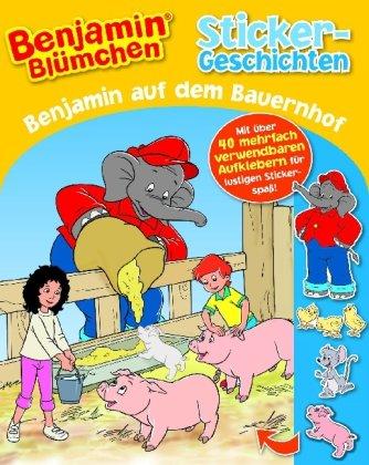 9781407520322: Benjamin Blümchen auf dem Bauernhof: Sticker-Geschichten