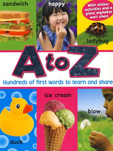 9781407537610: A to Z: Hundreds of First Words to Learn and Share (Photo Learning)