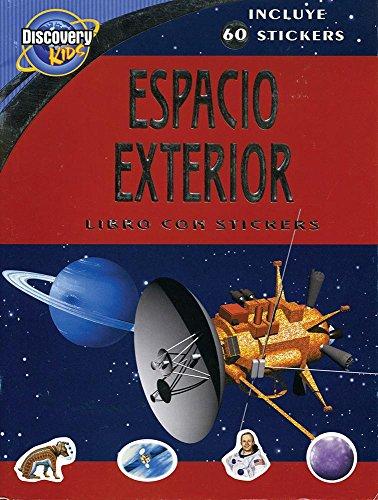9781407544281: Discovery Kids Espacio Exterior Libro Con Stickers (Incluye 60 Autocolantes)