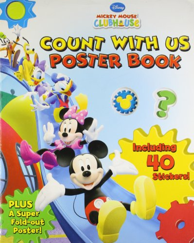 Disney: Mickey Mouse Clubh Use (Count with Us Poster Book): Parragon Publishing India