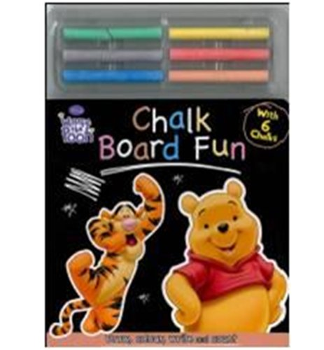 Disney Winnie the Pooh: Chalk Board Fun: Parragon Publishing India