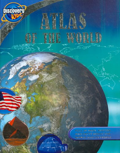 9781407554594: Atlas of the World: Live. Learn. Discover. (Discovery Kids)
