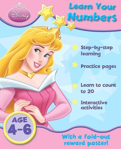 9781407567075: Disney Home Learning: Princess - Learn Your Numbers
