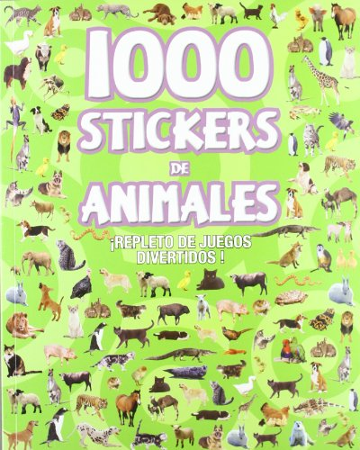 9781407567761: 1000 stickers de animales