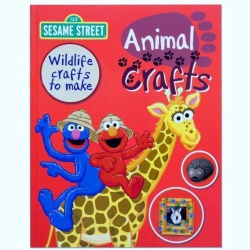 9781407571966: Sesame Street Animal Crafts