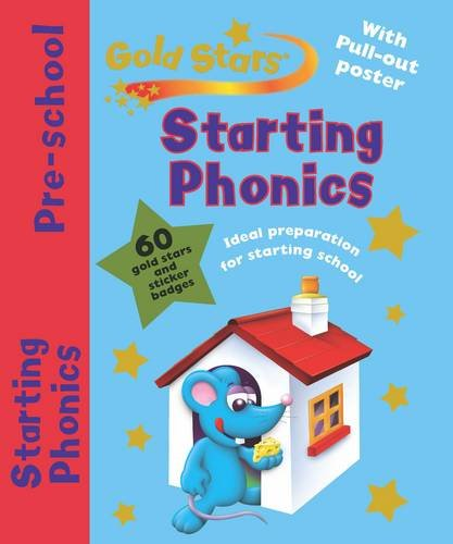 9781407575278: Gold Stars Pre-School Workbook: Starting Phonics (Pre School Gold Stars)