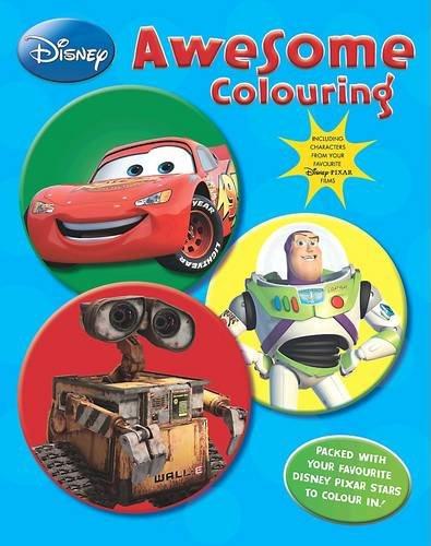 9781407575759: Disney Pixar: Awesome Colouring