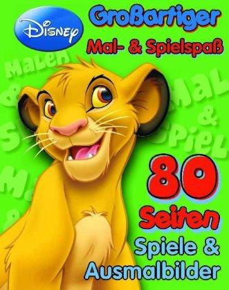 9781407586007: Großartiger Mal- & Spielspaß: König der Löwen: 80 Seiten Spiele & Ausmalbilder