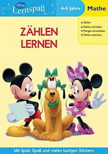 9781407588421: Disney Lernspaß. Zählen Lernen: 4-5 Jahre Mathe