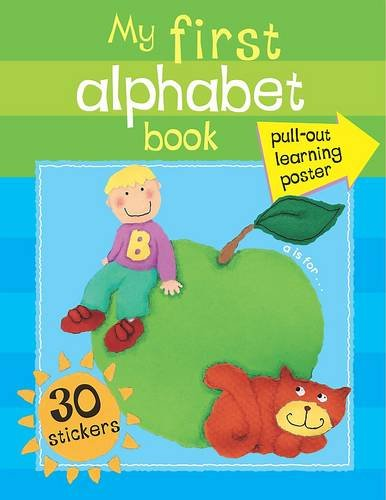 9781407589220: My First Sticker Poster: My First Alphabet Book