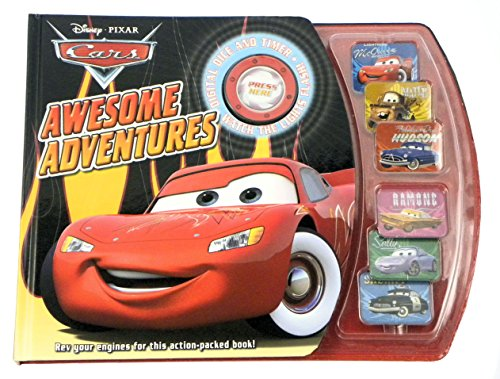9781407589329: Cars Awesome Adventures (Disney Pixar)