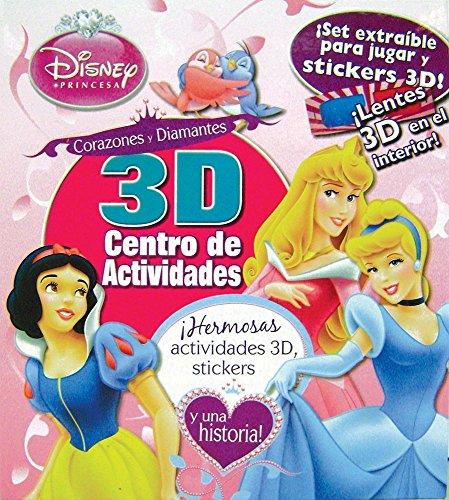 9781407597348: DISNEY PRINCESA - 3D CENTRO DE ACTIVIDADES (Spanish Edition)