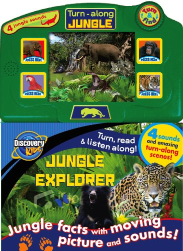9781407598901: JUNGLE EXPLORER (Discovery Moving Pictures)